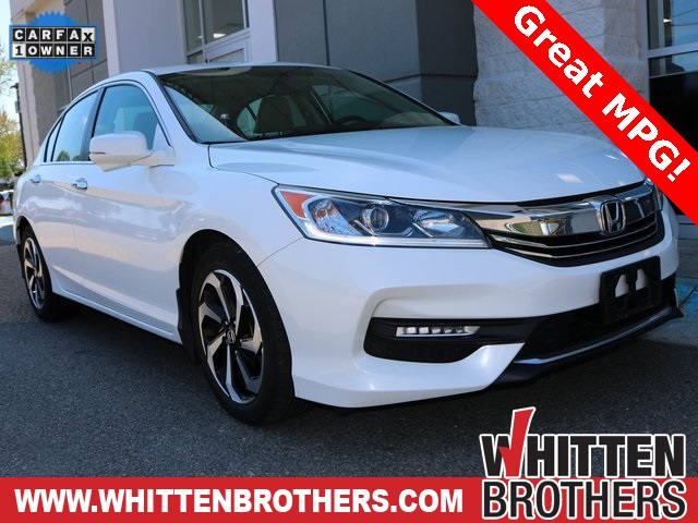 Pre Owned 2016 Honda Accord Ex L