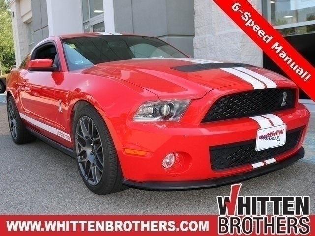 PRE-OWNED 2012 FORD MUSTANG SHELBY GT500 RWD 2D COUPE