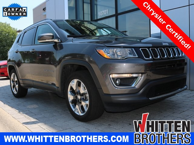 Certified Pre Owned Jeep >> Certified Pre Owned 2019 Jeep Compass Limited 4d Sport Utility In