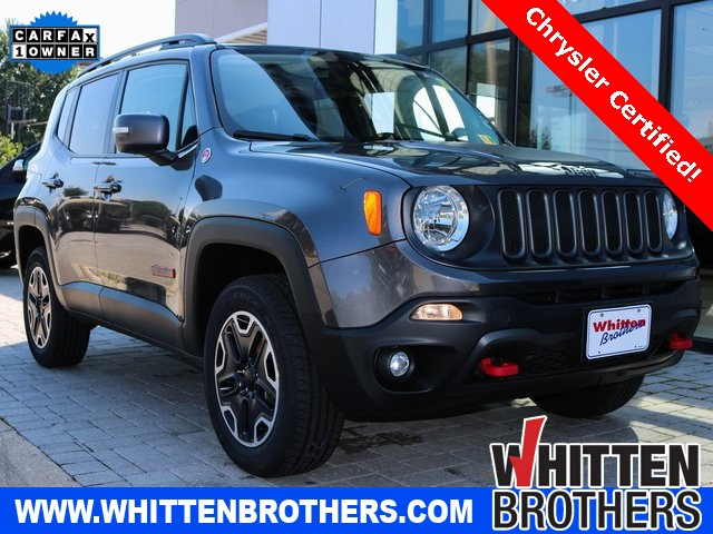 Certified Pre Owned 2017 Jeep Renegade Trailhawk