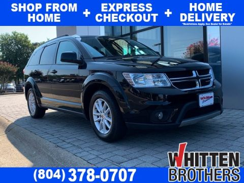 Pre-Owned 2018 Dodge Journey SXT FWD 4D Sport Utility
